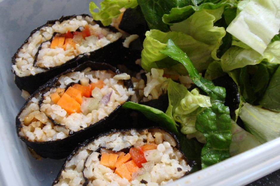 Mmm sushi